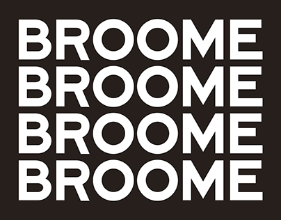 Broome—A Bespoke Font Family