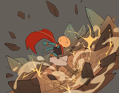 Cauldron - Terraformer Action Poses