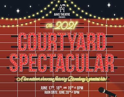 AHHS 2021 Courtyard Spectacular Poster