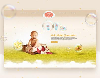 Belo Baby | Website Design Proposal