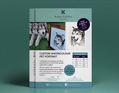 Kelsey Emblow Illustration - Printed Marketing