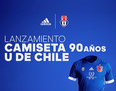 adidas - U de Chile 90 años