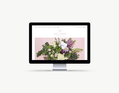 Del Jardín - Online Shop