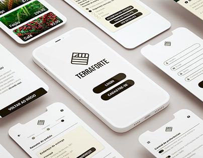 Terraforte   App UI Design