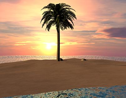 Sun Dawn- Island