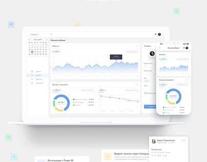 Clients Management Web-App UI/UX