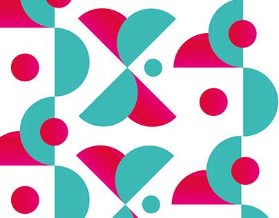 Huisstijl patroon en logo | anke aangenaam