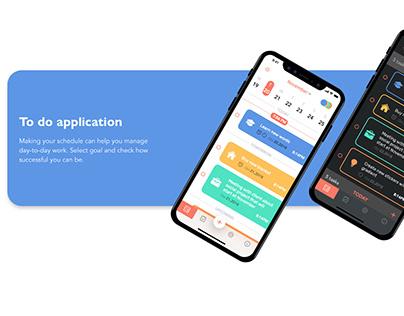 Todo app/UI/UX