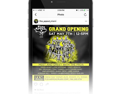 Flex Appeal Miami Social Media Ad