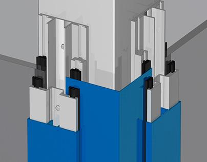 Trockenverglasungssystem