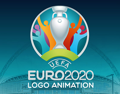 EURO 2020 - National Football Team Logo Animation