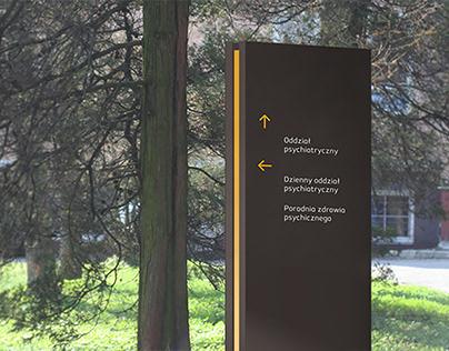 Helka Typeface & Hospital signage