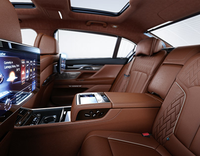 BMW 7 Series G12 Interiors