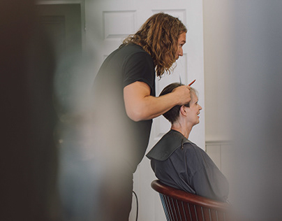 Simon Smith Hairdressing - Brand Photography