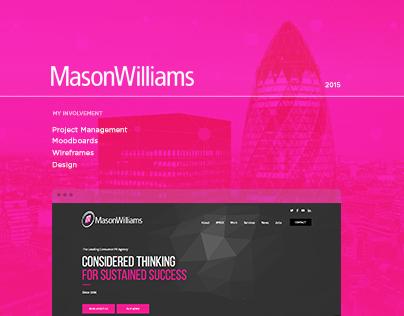 Mason Williams - Web Design