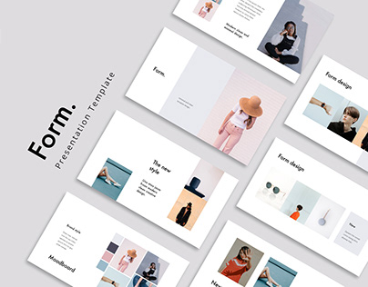 FORM - Stylish & Minimal Template