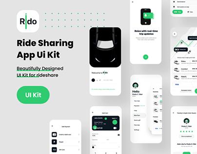 Rido Rideshare App Ui Kit