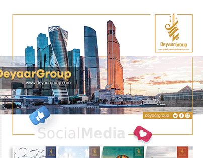 Deyaar Group | Social Media