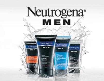 J&J: Neutrogena Men - Outdoor Print Campaign