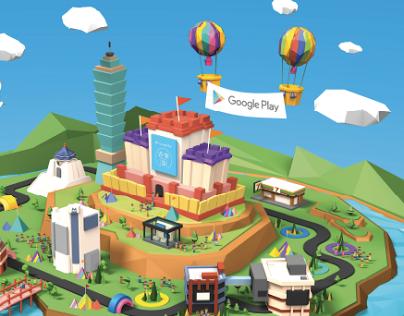 Google Play - Digital On-ground Activation