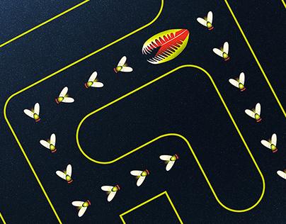 Fly Trap   Digital Art