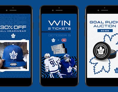 Toronto Maple Leafs x Real Sports - Lifestyle Marketing