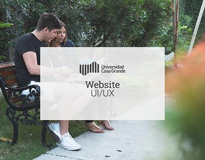 Universidad Casa Grande Website