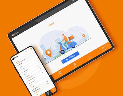 Picksy Delivery - Website Design