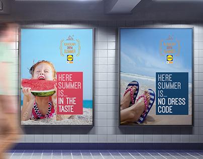 published - local Airport campaign - LIDL supermarkets