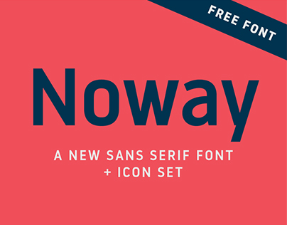 Noway font + icons