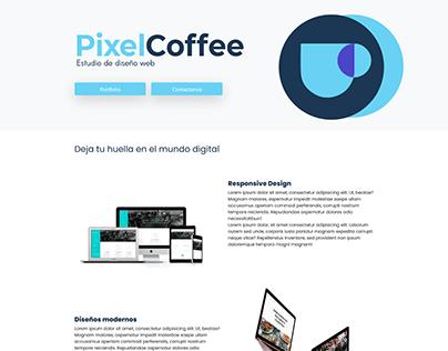 Pixel Coffee, Web Development Study
