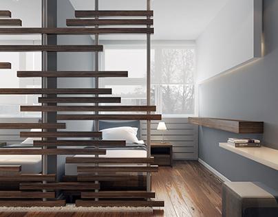 Motel room design