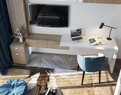 modern girl & boy bedrooms