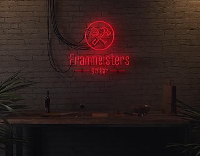 Franmeisters DIY Bar - Logo Design
