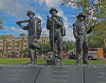 Arizona State Firefighters Memorial, Phoenix Arizona