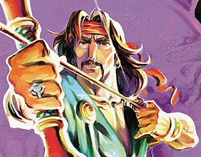 The Arc of Suren (A Persian graphic novel)