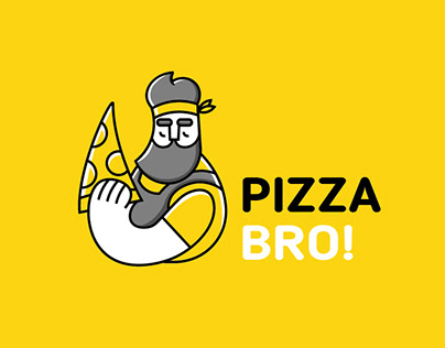 Pizza Bro logo