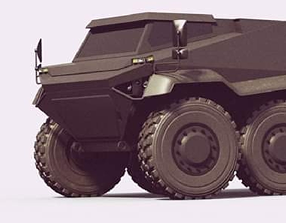 Heavy Duty Armored Off-road Vehicle
