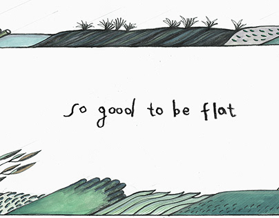so good to be flat