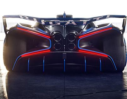 Bugatti Bolide | FULL CGI
