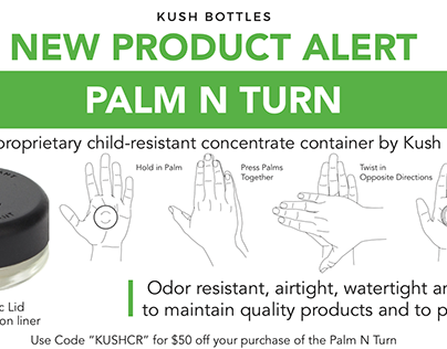 Targeted Product Mailers + Flyers for Kush Bottles