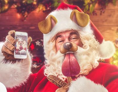 Navidad en Snapchat