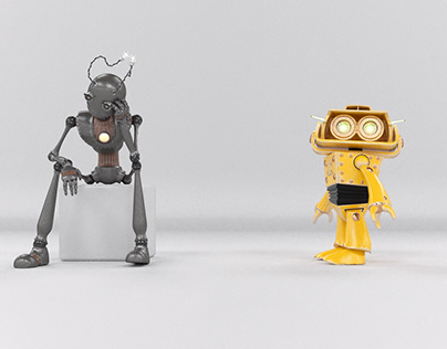 Short Robots animation.