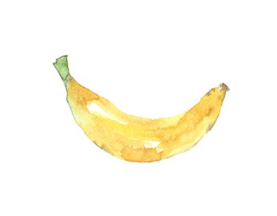 SKETCHBOOK: Food illustration