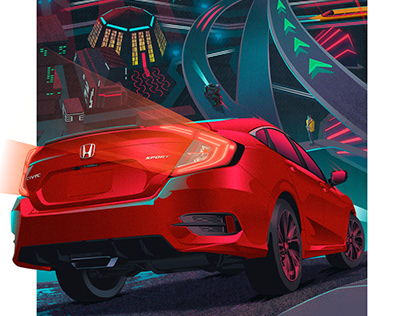 Honda Civic Posters