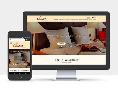 Webdesign - Hotel Ödenhof