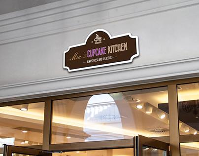 Cupcake kitchen branding