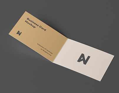 Bi-Fold Card Mock-Up 2