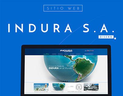 INDURA - Website Design