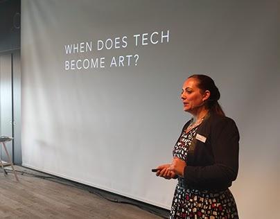 Talk: Art & Tech at CATCH